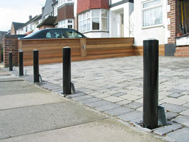 protect your car from driveway theft new security barriers supplied and fitted