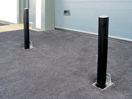 buy direct supplied & fitted retractable security bollards