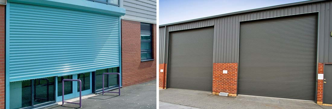Commercial steel shutters