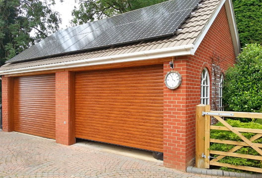 Europa Garage Doors quality finish without compromise